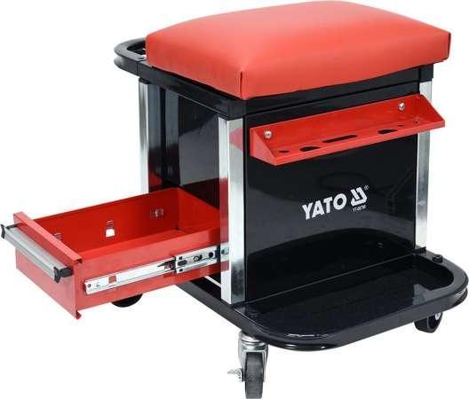Табурет для мастерской с ящиками YATO YT-08790 (Польша)