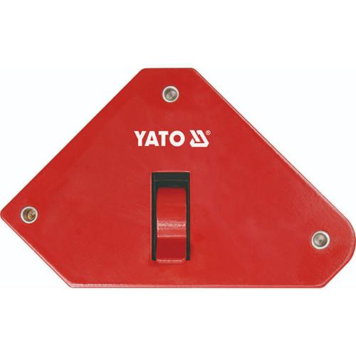 Струбцина магнітна для зварювання з перемикачем 85 Х 139 Х 25 мм YATO YT-0868 (Польща)