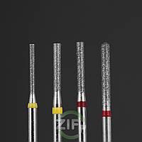 Алмазные боры цилиндрические ВЛАДМИВА для турбинного наконечника