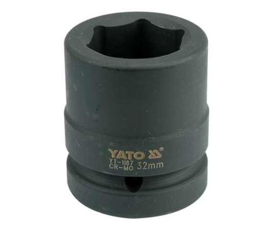 "Головка торцевая шестигранная ударная 1"" М32 Х 61 мм YATO YT-1187 (Польша)"
