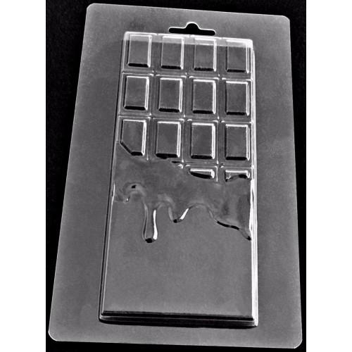Форма пластиковая 18*11 см, Плитка шоколада
