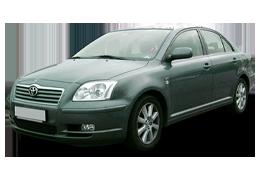 Спойлера для Toyota (Тойота) Avensis 2 2003-2009