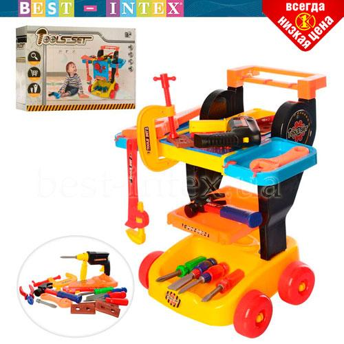 Детский набор стол с инструментами Bambi998-4