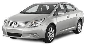 Спойлера для Toyota (Тойота) Avensis 3 2009-2018