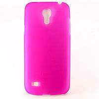 Чехол-накладка для Samsung Galaxy S4 mini, i9190, пластиковый ультратонкий, Розовый /case/кейс /самсунг, фото 1