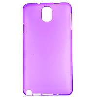 Чехол-накладка для Samsung Galaxy Note 3 N9000 SM-N9000 SM-N900, пластиковый ультратонкий, Фиолетовый, фото 1