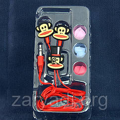 Детские наушники Disney, Paul Frank, 3.5 mm /наушники для детей/для девочек