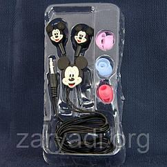 Детские наушники Disney, Mickey Mouse, 3.5 mm /наушники для детей/для девочек