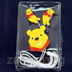 Детские наушники Disney, Winnie the Pooh, 3.5 mm /наушники для детей/для девочек