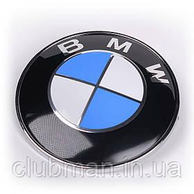 Эмблема БМВ BMW 82 мм значок бмв E39 E53 E60 E46 E36 E34 E90 E65 E66 E70 Значек на капот багажник