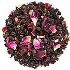 Зеленый чай с гранатом, каркаде и лепестками роз Гранатовый звездопад Space Coffee 250 грамм, фото 2