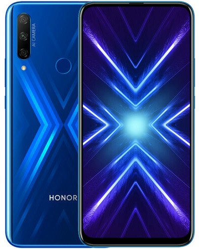 "Смартфон Huawei Honor 9X 4/128GB Blue, 48+8+2/16Мп, 6,59"" IPS, 2 sim, 4G, 4000мАh, Kirin 710F, 8 ядер"
