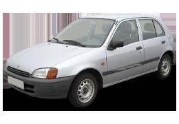Спойлера для Toyota (Тойота) Starlet P90 1996-1999
