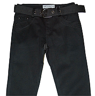 Джинсы для мальчика осенне-весенние, черного цвета, фото 1