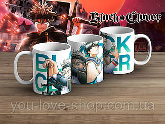 """Чашка Черный клевер """"Partners""""/ Black Clover"""