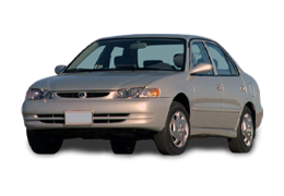 Спойлера для Toyota (Тойота) Corolla 8 1995-2002
