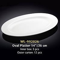Блюдо овальное 36 см (Wilmax) WL-992026
