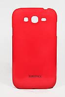 Чехол-накладка для Samsung Galaxy Grand Duos, i9082, пластиковый, Buble Pack, Малиновый /case/кейс /самсунг