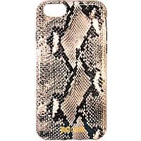 """Чехол-накладка для Apple iPhone 6 iPhone 6S, """"Питон"""", силиконовый, Just Cavalli, Белый /case/кейс /айфон, фото 1"""