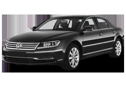 Спойлера для Volkswagen (Фольксваген) Phaeton 2 2010-2016
