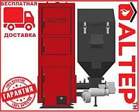 Котел с автоподачей топлива Альтеп DUO Pellet N 15, 21,27, 33, 40 - 150 кВт