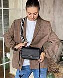 Женская кожаная сумка magicbag черная, фото 3