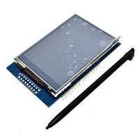"""Дисплей TFT 2,8"""" с тачскрином, 240x320, HX8347I"""