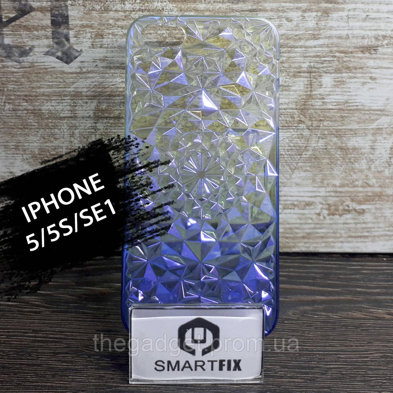 Силиконовый чехол для iPhone 5/5S/SE Градиент