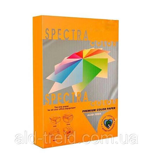 Бумага цветная SPECTRA COLOR А4 155 г/м2 IT371 неон оранжевый