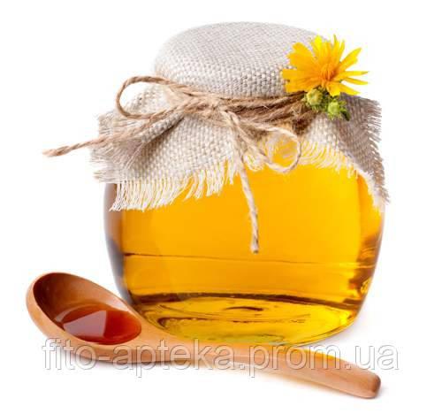Мед Акация+лекарственные лесные травы (боярышник) 1л (1,5кг) (институт пчеловодства) (Черниговская область)
