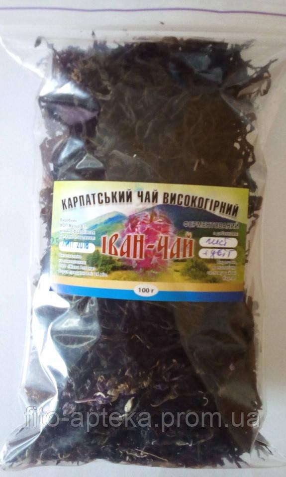 Иван-чай ферментированный листовой (Карпатский высокогорный) 100 грамм