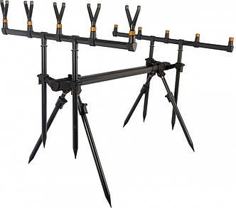 Рід під алюмінієвий Weida Rod Pod A09-4 на 5 вудилищ