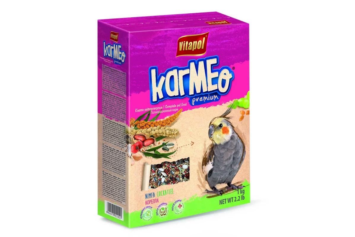 Преміум корм Vitapol Karmeo для німф 500г