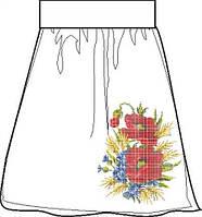 СПЖП-6. Заготовка Жіноча спідниця домоткана