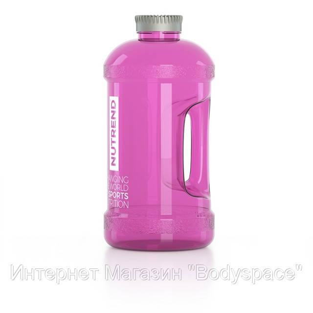 Nutrend, Бутылка для воды Water Jug neon pink / розовый 2000 мл