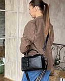 Женская кожаная сумка magicbag черная, фото 6