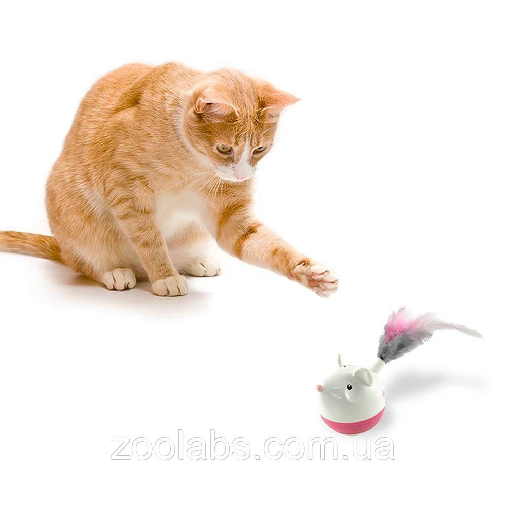 Интерактивная игрушка для кошек мышка | Nina Ottosson Cat Hunt N Swat Treat Tumbler