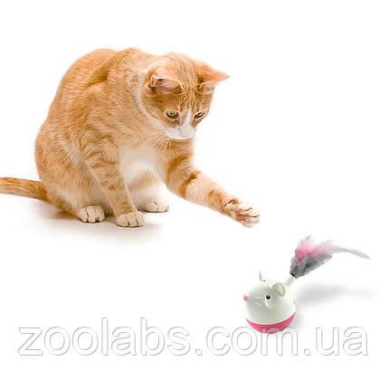 Интерактивная игрушка для кошек мышка | Nina Ottosson Cat Hunt N Swat Treat Tumbler, фото 2