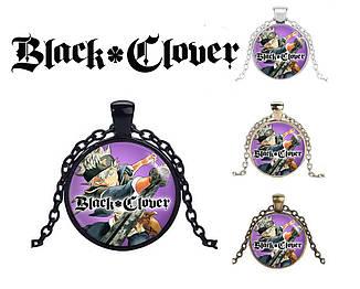 """Кулон Черный клевер """"Hero Aster"""" / Black Clover"""