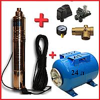 Погружной глубинный насос (насосная станция) Werk 0,37 кВт