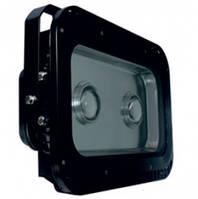 Прожектор светодиодный LED 100w 2LED 6500K IP65 LEMANSO чёрный