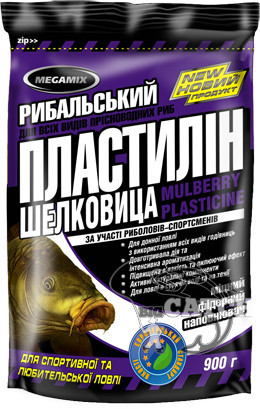 Рыболовный пластилин Megamix, 500г, Шелковица