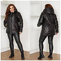 Куртка женская батал зимняя, фото 1