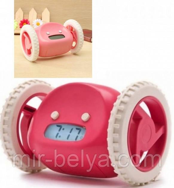 Убегающий будильник на колесиках alarm clock
