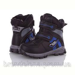 Детские зимние ботинки для мальчика M.L.V  р(27-31)