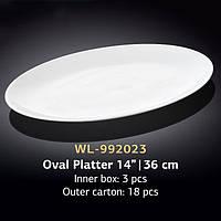 Блюдо овальное 36 см (Wilmax) WL-992023