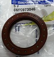 Сальник коленвала передний SsangYong Rexton, Kyron, Actyon 6659973046, фото 1