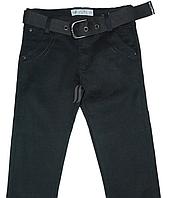 Джинсы для мальчика осенне-весенние, черного цвета