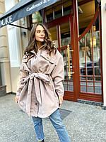Пальто рубаха кашемировое Shalhe