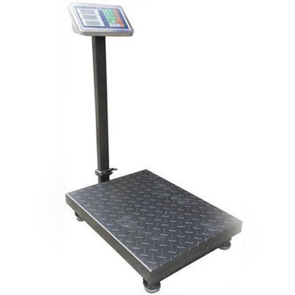 Весы торговые электронные Domotec со стойкой до 1000 кг напольные
